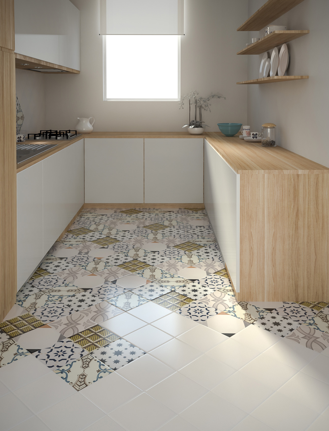 Piastrelle cucine e bagni interni71 for Piastrelle con decori